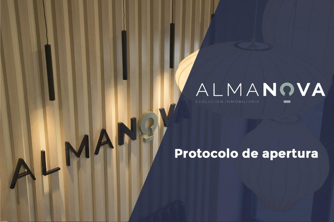 protocolo de apertura de Inmobiliaria Almanova