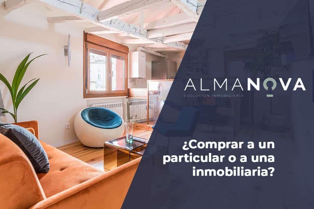 Comprar piso a un particular o a una inmobiliaria