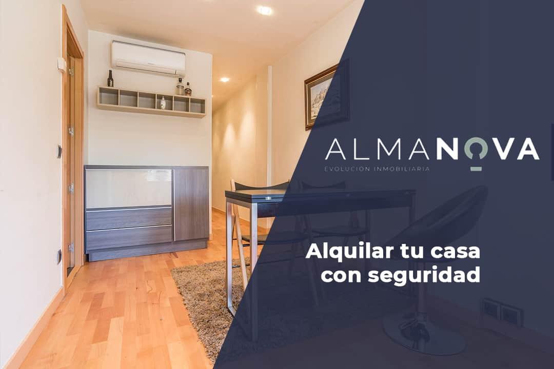 Alquilar casa con seguridad